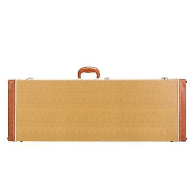 Deluxe ST High Grade Electric Guitar Square Hard Case Flat Yellow