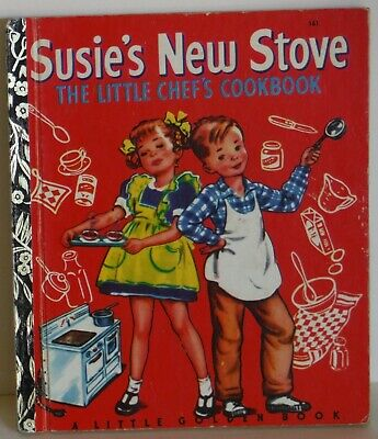 Susie's New Stove A Little Golden Book Vintage LGB 1974 Sydney Edition Cooking