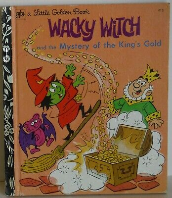 Wacky Witch King's Gold A Little Golden Book Vintage LGB 1973 Sydney Edition VG