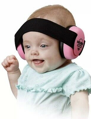 Hush Gear Baby Noise Cancelling Headphones Infant Ear Protection in Pink … New