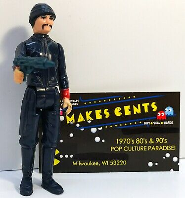 """1980 Kenner Star Wars 3 3//4/"""" 1//18 scale Bespin Security Guard White SW-215"""