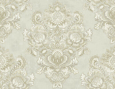 Clouded Faux Wallpaper in Fawn RD81607 from Wallquest