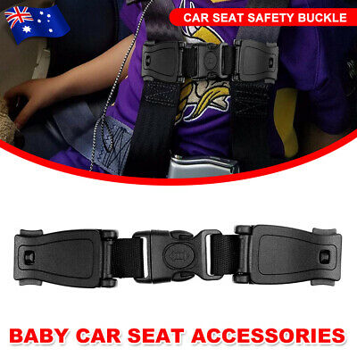 Baby Car Safety Seat Strap Clip Harness Chest Belt Child Highchairs Buckle Lock