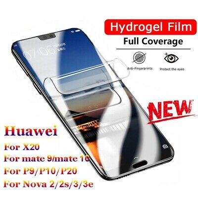 Protector Full Coverage Hydrogel Film For Huawei P20 P30 Pro Lite Honor V20