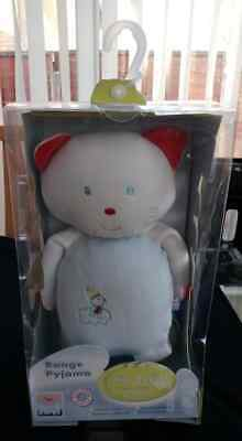 """Pyjama Case Sucre D'orge Soft Toy Cat. Approx 16"""" Brand New in Box"""