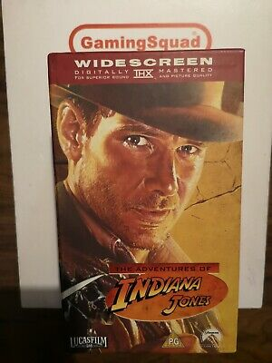 Indiana Jones Trilogy Box Set (Widescreen) VHS Video, Supplied by Gaming Squad