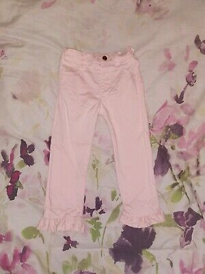 Girls Pink Cropped Trousers 4-5