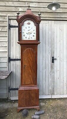 ANTIQUE GRANDFATHER CLOCK *In Need Of TLC*