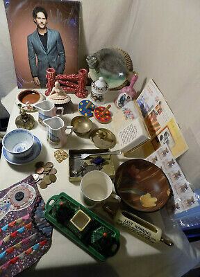 Job Lot Vintage / Collectables / Curios, Over 30 Pieces, Stall Stocker, Lot 5