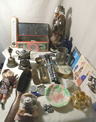 Job Lot Vintage / Collectables / Curios, Over 30 Pieces, Stall Stocker, Lot 7