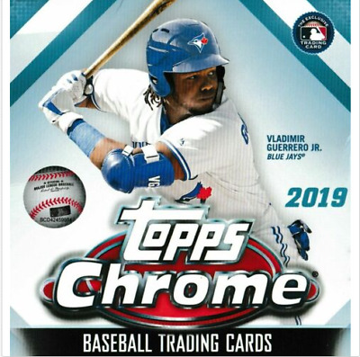 """2019 Topps Chrome #1-204 Base """"You Pick"""" 10 Cards For $5...Complete Your Set"""