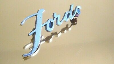 Ford Emblem - Vintage - Original Aus Usa - Rarität - Made In Usa!