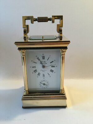 Antique L,Epee Venitien  Repeater Alarm Striking Carriage Clock For A Nurse Fund