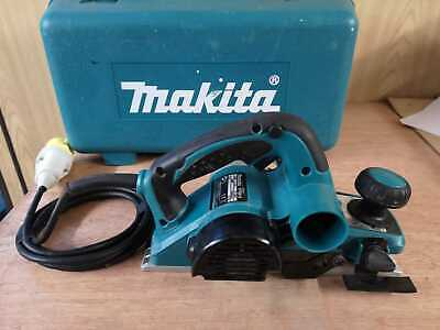 Makita KP0810 Planer with Dust Bag, 110v, 82mm, Year 2014, In Good Working Order