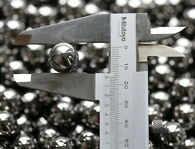 100pcs Industrial Rolling Roller Beads AISI 52100 Steel Ball Bearings 15.875mm
