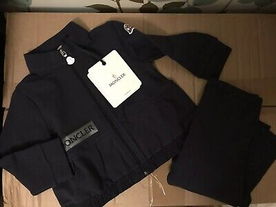 BNWT Moncler Girls Tracksuit 12/18 Months New