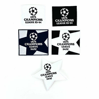1993-95 UEFA Champions League Patch Old for Shirt Jersey