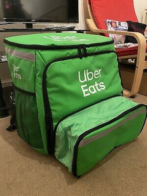 Ubereats Backpack with Expanding Pizza Pocket