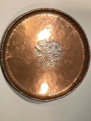 Hugh Wallis Arts & Crafts Copper & Pewter Tray
