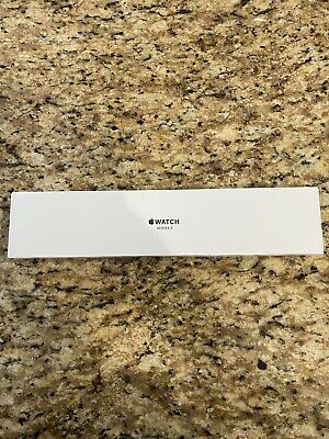 Apple Watch Series 3 38mm Silver Aluminum Case White Sport Band GPS SEALED