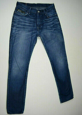 Mens G-Star Jeans 'BLADES TAPERED' Medium Aged Destroy Size W34 L36 RRP $289