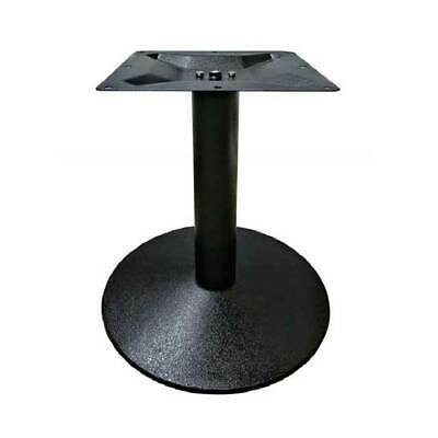 New Round Cafe Pedestal Cast Iron Table Base Dining Height Table Legs 720mm Lobe