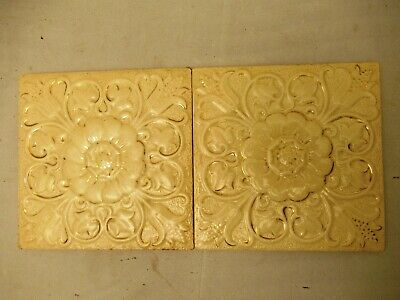 Antique Tile Minton'S China Works Stock On Trent England Porcelain Collectib*504