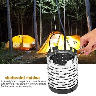 Outdoor Camping Heating Stove Cover Folding Winter Tent Car Warmer Accessory