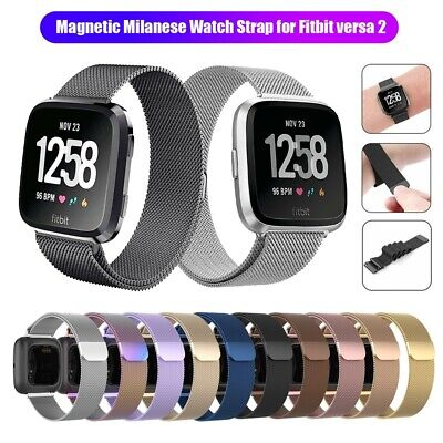 For Fitbit Versa 2/Versa/Versa Lite Milanese Replacement Straps Bands Bracelet