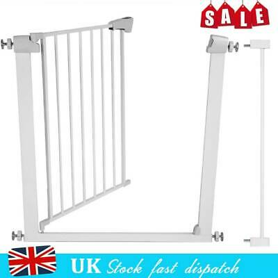 Pet Dog Gate Safety Guard Metal Baby Toddler Stair Door Isolation Protecction