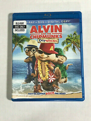 Alvin and the Chipmunks Chipwrecked Blu-Ray disc only