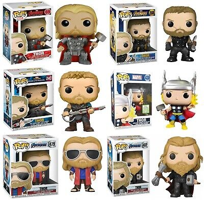 Funko POP Marvel Avengers End Game War Thor Vinyl Action Figure Toy Collection