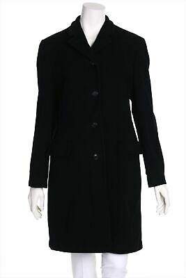 BURBERRY Wintermantel aus 100% Kaschmir UK 12 = D 38 schwarz Mantel warm Coat