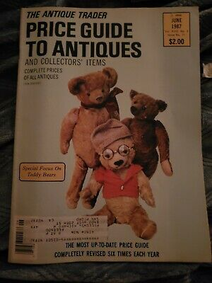 VINTAGE The Antique Trader Price Guide Collectors' Items June 1987 RARE
