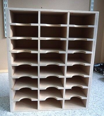 Hand Crafted Storage Unit For 24 Stampin Up Punch Unit