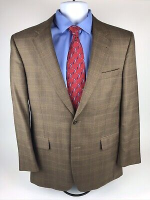 JOS A BANK Signature Collection Lot of 2 Mens Sport Coats Size 40R Gray & Brn