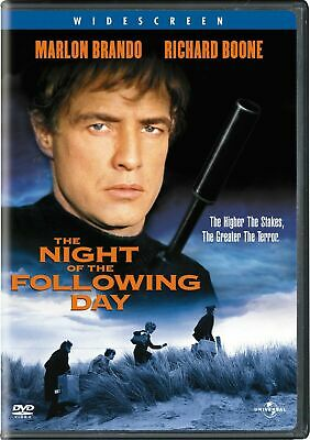 The Night of the Following Day DVD Marlon Brando - NEW / SEALED - LAST ONE!