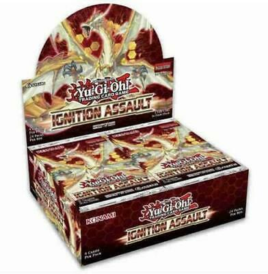 Yugioh TCG Ignition Assault 1st Edition Booster Box New Sealed packs cards