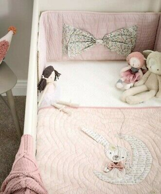 Mamas And Papas - Millie And Boris - bedding set bumper and quilt