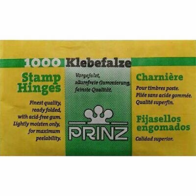 Prinz Stamp Hinges - Pack of 1000