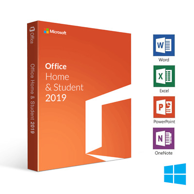 Microsoft Office Home And Student 2019 Full License Pc Windows 10