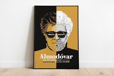 Limited edition poster « Almodóvar », hand numbered and signed
