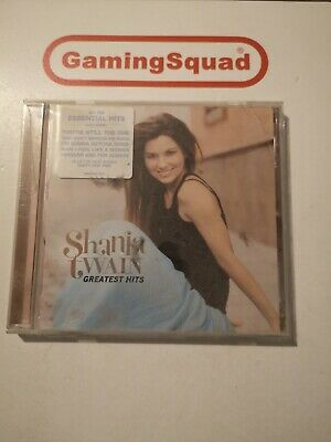 Shania Twain Greatest Hits CD, Supplied by Gaming Squad