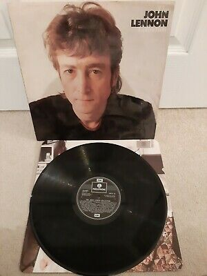 "The John Lennon Collection Vinyl 12"" LP + Inner Parlophone EMTV 37 1982"