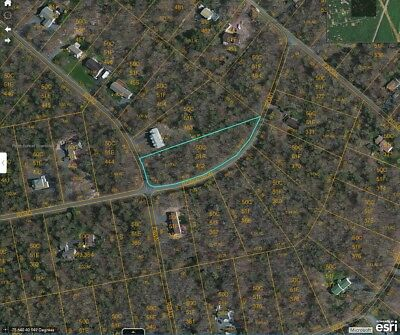 1.13 Acre Bare Residential Land Corner Lot in Pocono Mountains