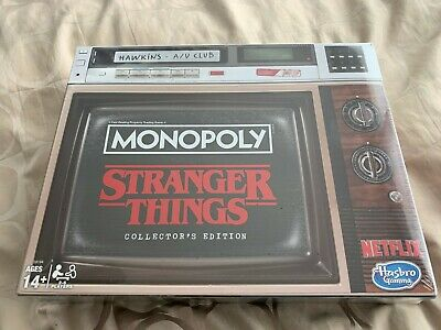 Stranger Things Collector's Edition Monopoly