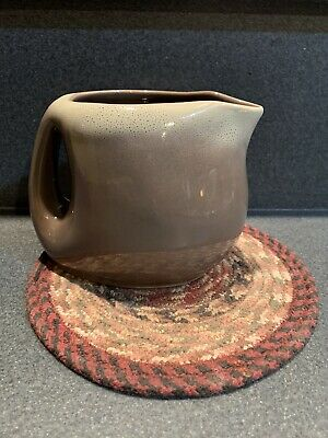EX TAMAC Pottery Frosty Fudge Glaze MCM Water, Juice, Tea, Pitcher Perry, OK