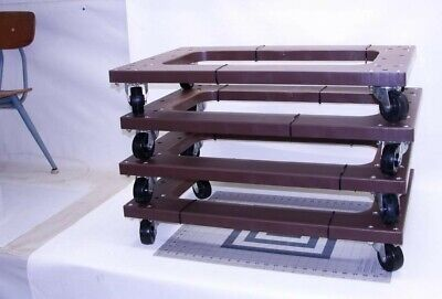 """4 PACK Mover Furniture Moving Dolly Swivel Casters  About 30""""x18"""""""