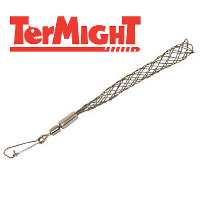"""TerMight 3/8"""" - 1/2"""" Wire Pulling Grip Pulling Cable Drop Grip Mesh Wall Fishing"""