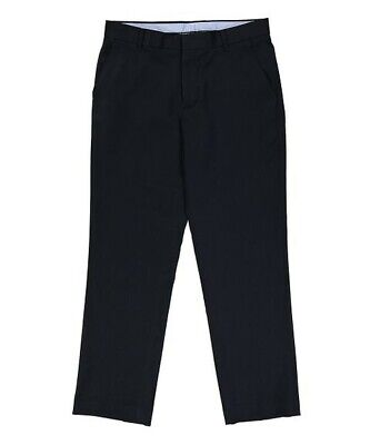 Boys Tommy Hilfiger Navy Tailored Trousers waist age 8, 24, leg 22. 5